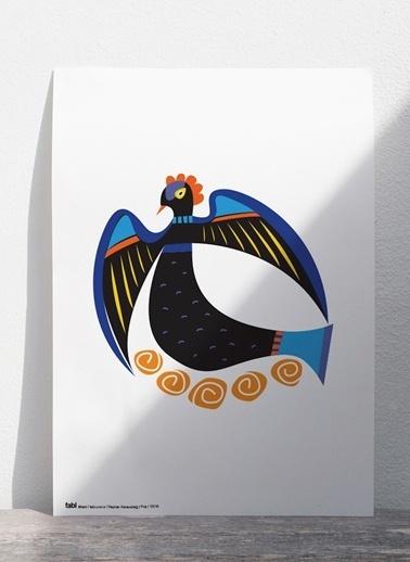 Kuş Poster-Fabl